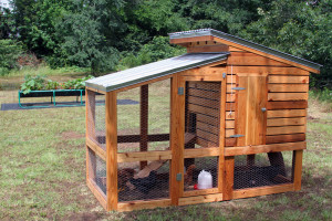 Photo of one of our chicken coops.